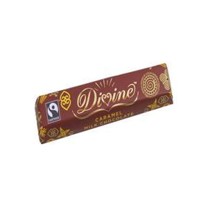 Divine Chocolate Caramel Milk Chocolate 40g