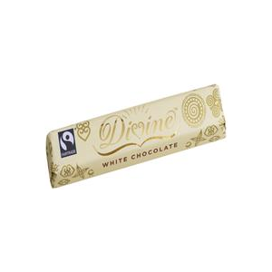 Divine Chocolate White Chocolate 40g