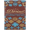 Divine Chocolate Milk Chocolate Toffee & Salt