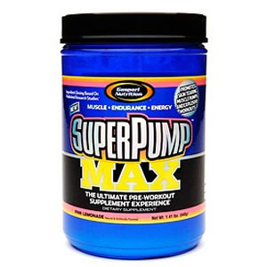 Gaspari Superpump Max Pink Lemonade 640g
