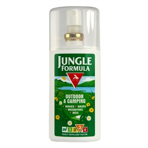Jungle Formula Outdoor & Camping Insect Repellent Pump Spray- Factor 3