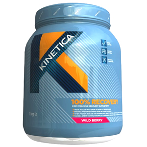 Kinetica 100% Recovery Wild Berry 1000g