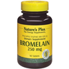 Natures Plus Bromelain 250 mg Tablets