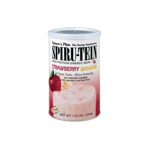 Natures Plus Strawberry Banana Spiru-Tein Shake