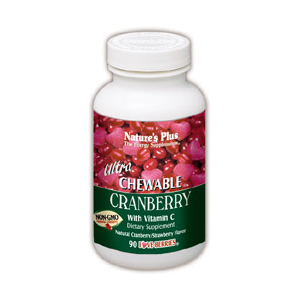 Natures Plus Ultra Chewable Cranberry Love Berries Tablets