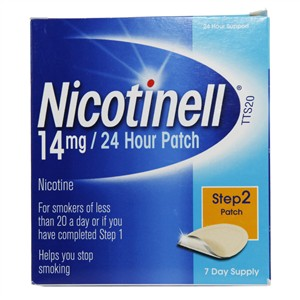 Nicotinell 24 Hour Patch Step 2 - 14mg