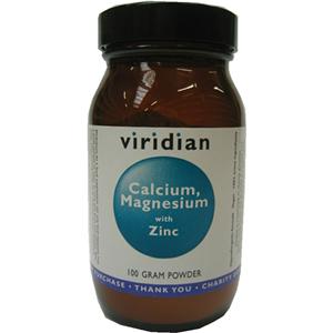 Viridian Calcium Magnesium with Zinc Powder