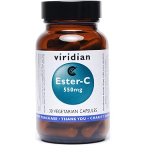 Viridian Ester-C 550mg Caps