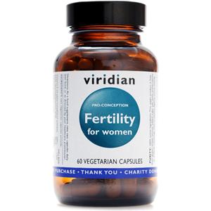 Viridian Fertility For Women 60 Caps