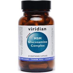 Viridian Glucosamine MSM Complex (Vegan) Veg Caps 30 Caps