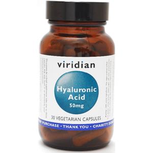 Viridian Hyaluronic Acid 50mg Veg Caps