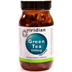 Viridian Organic Green Tea Leaf 500mg Veg Caps