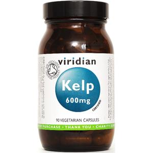 Viridian Organic Kelp 600mg Veg Caps