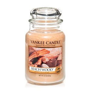 Yankee Candle Housewarmer  Beach Wood Jar