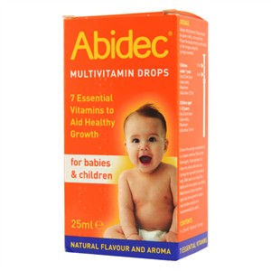 Abidec Multivitamins Drops For Babies & Children
