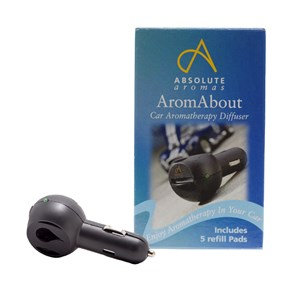 Image of Absolute Aromas Arom About Aromatherapy Car Diffuser