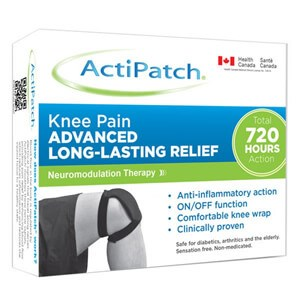 ActiPatch Knee Pain Advanced Lon-Lasting Relief