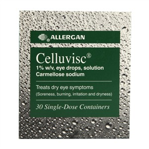 Allergan Celluvisc 1% w/v eye drops