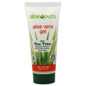 Aloe Pura Aloe Vera Gel with Tea Tree