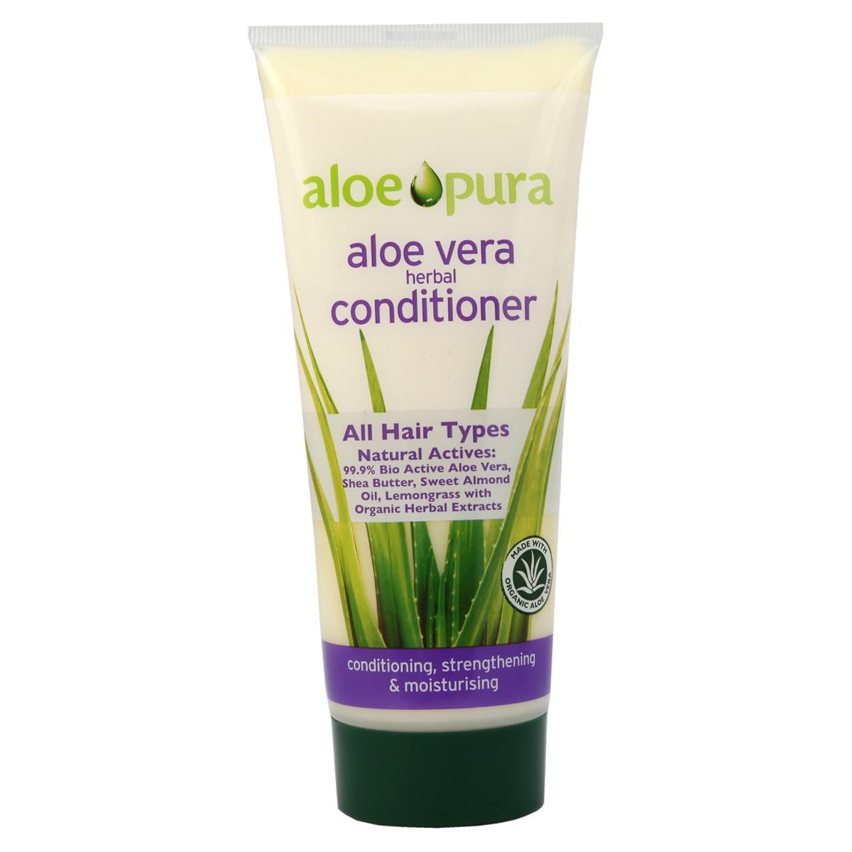 Aloe Pura Aloe Vera Herbal Conditioner for All Hair Types