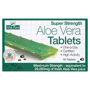 Aloe Pura Super Strength Aloe Vera Tablets