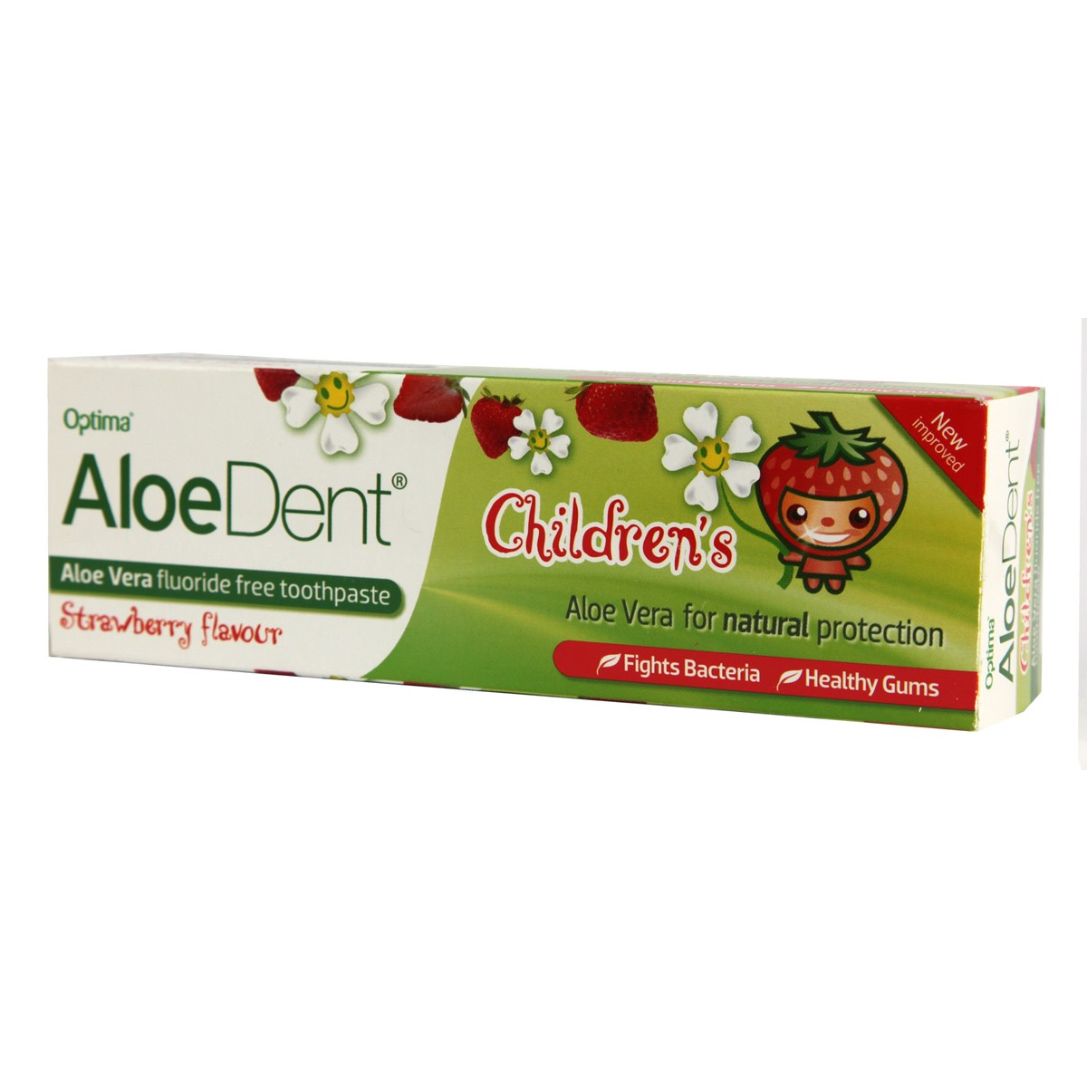 AloeDent Children's Strawberry Toothpaste
