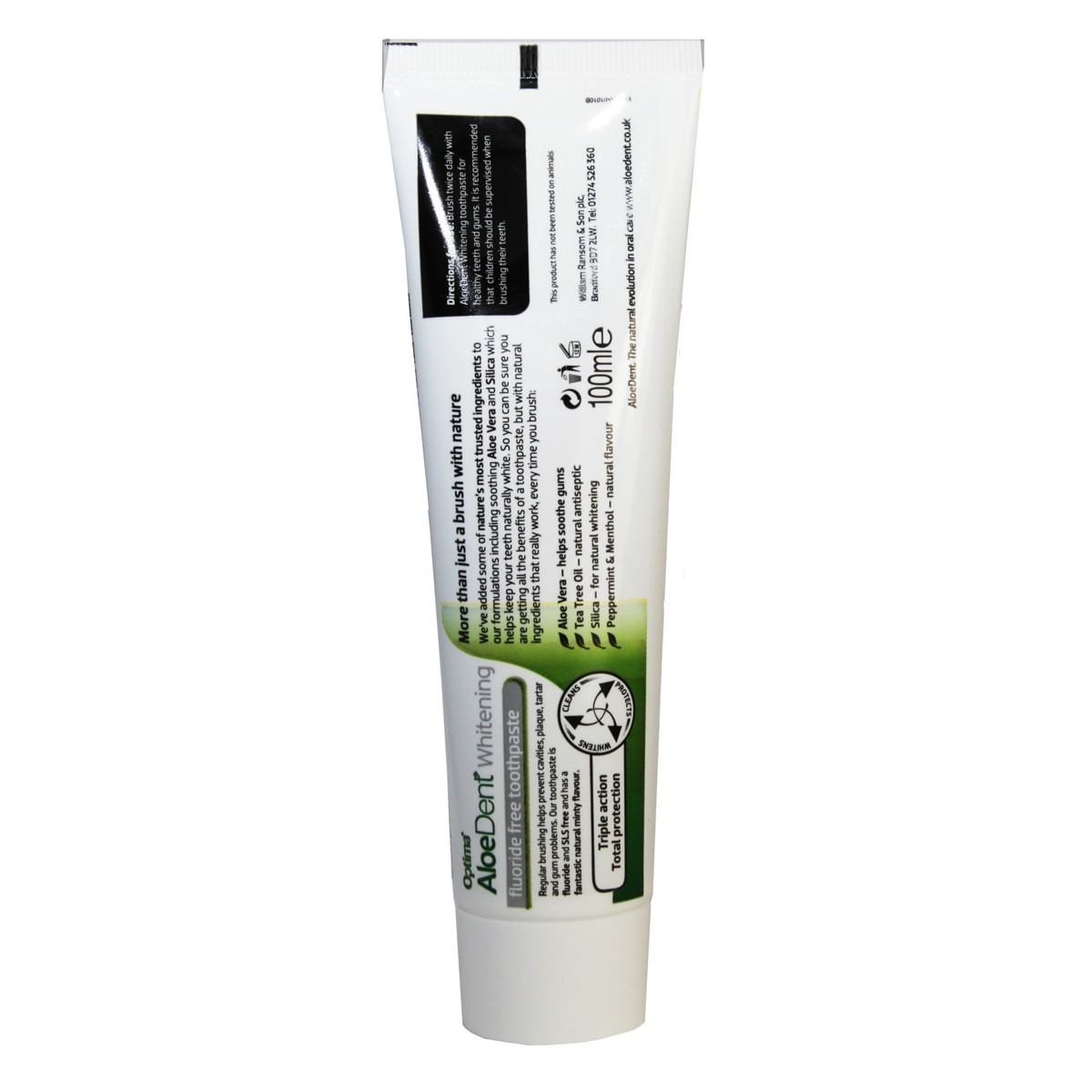 AloeDent Whitening Toothpaste Fluoride Free