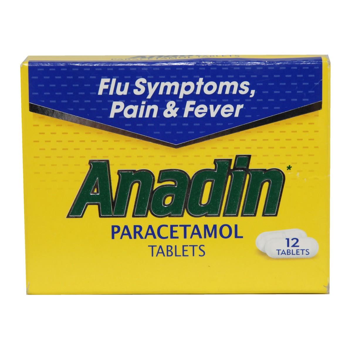 Anadin Paracetamol