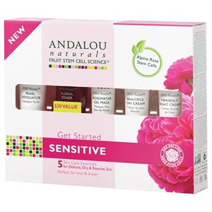 Image of Andalou Naturals 1000 Roses Get Started Kit