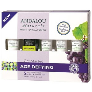 Andalou Naturals Get Started Age Defying Kit 5 Pieces