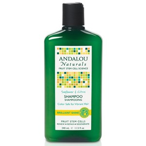 Andalou Naturals Brilliant Shine Sunflower & Citrus Shampoo