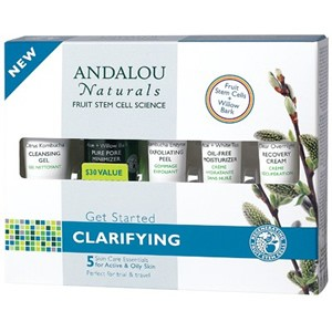 Andalou Naturals Get Started Clarifying Kit 5 Pieces