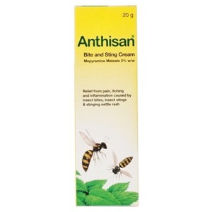 Anthisan Bite, Sting and Nettle Rash Cream