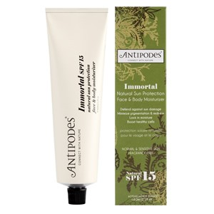 Antipodes Immortal Natural Sun Protection Face & Body Moisturizer SPF15