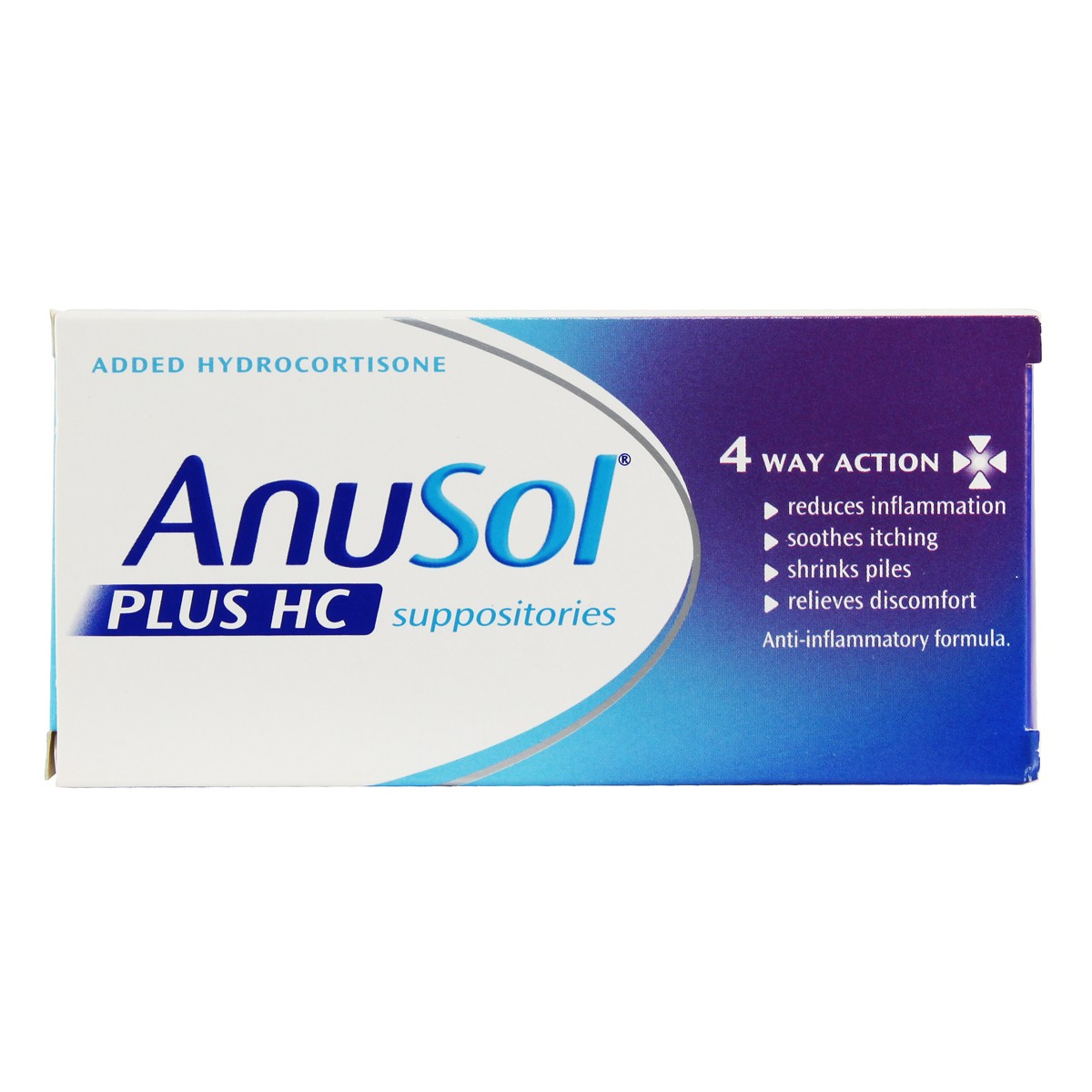 Anusol Plus HC Suppositories