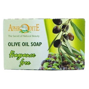 Aphrodite Olive Oil Soap Natural - Fragrance Free