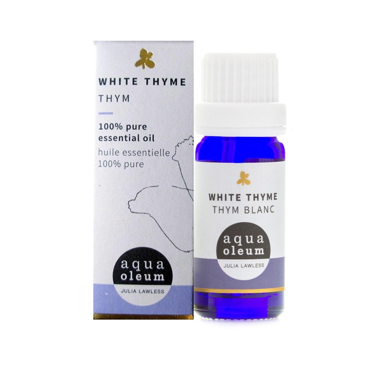 Echemist aqua oleum thyme white pure essential oil aqua oleum thyme white pure essential oil mightylinksfo