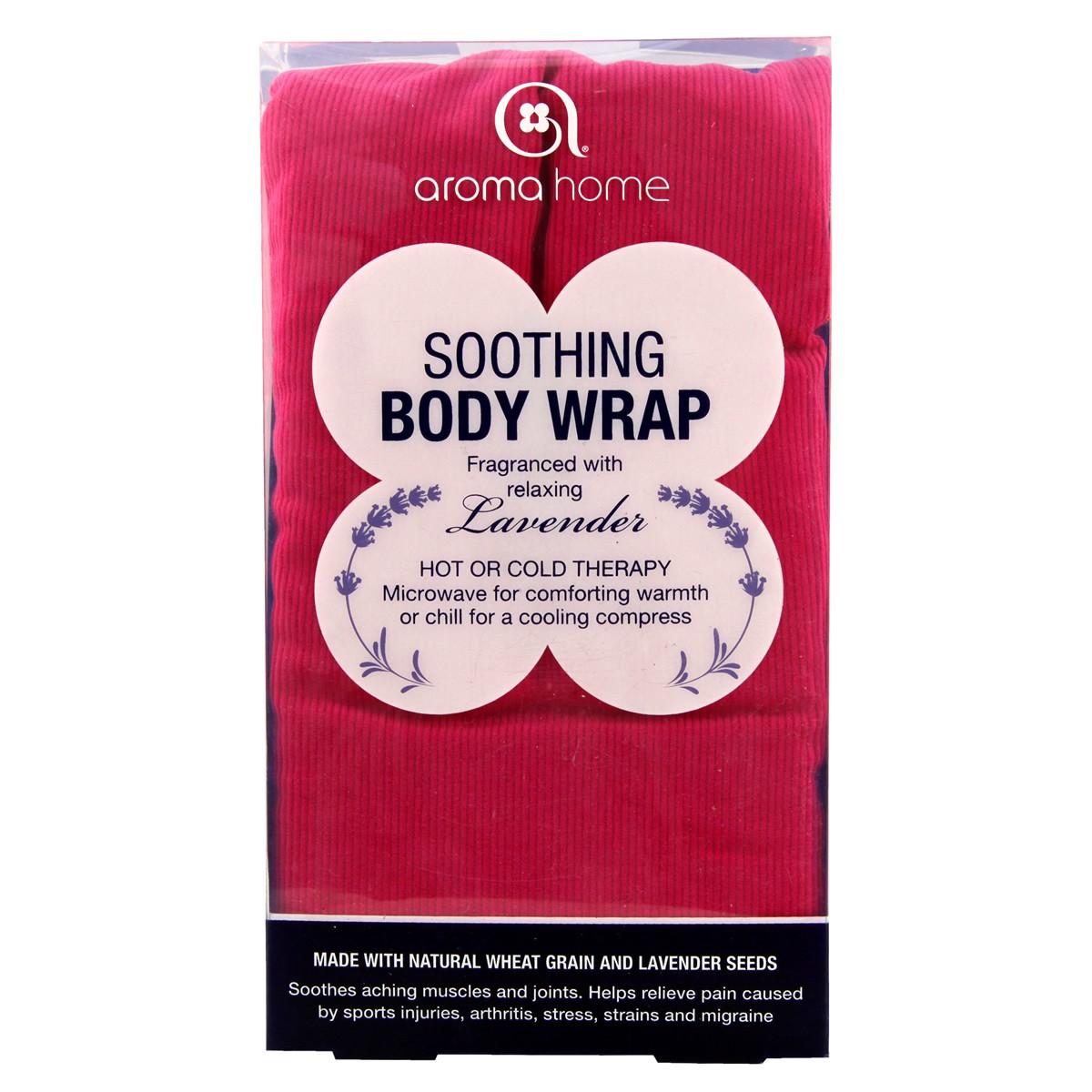 Aroma Home Soothing Body Wrap - Fuchsia