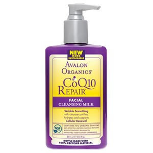 Avalon Organics CoQ10 Repair Facial Cleansing Milk