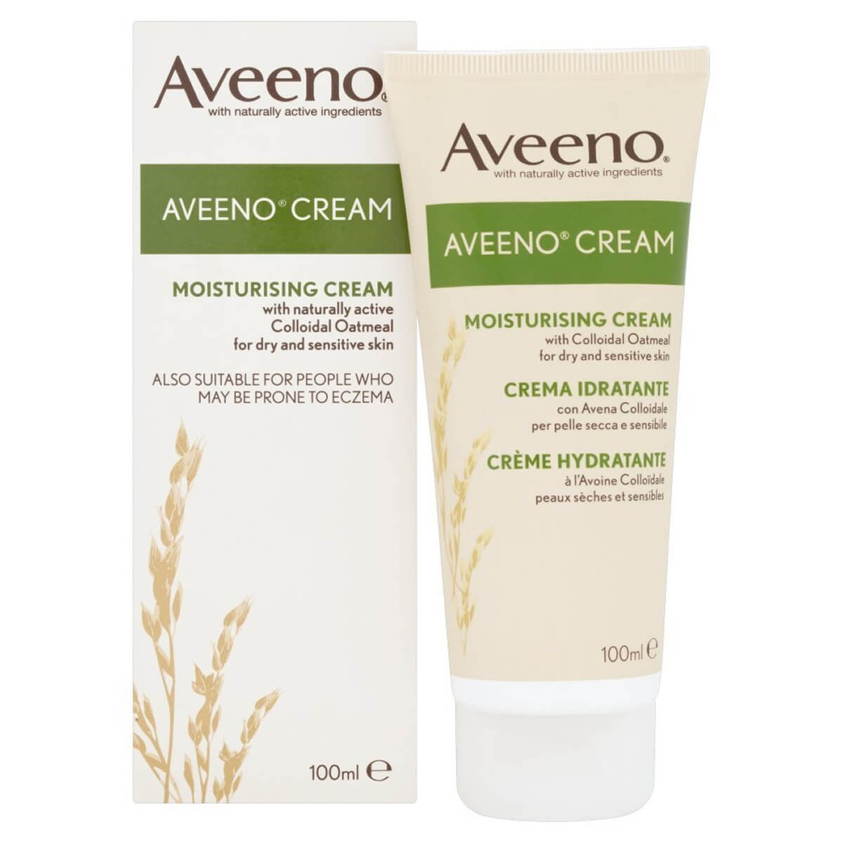 Aveeno Moisturising Cream with Active Colloidal Oatmeal
