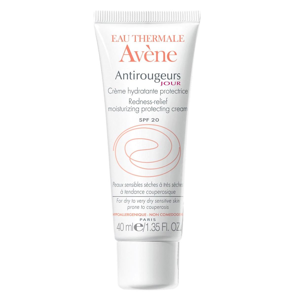 Avene Antirougeurs Jour Cream SPF20 - Dry to Very Dry Skin