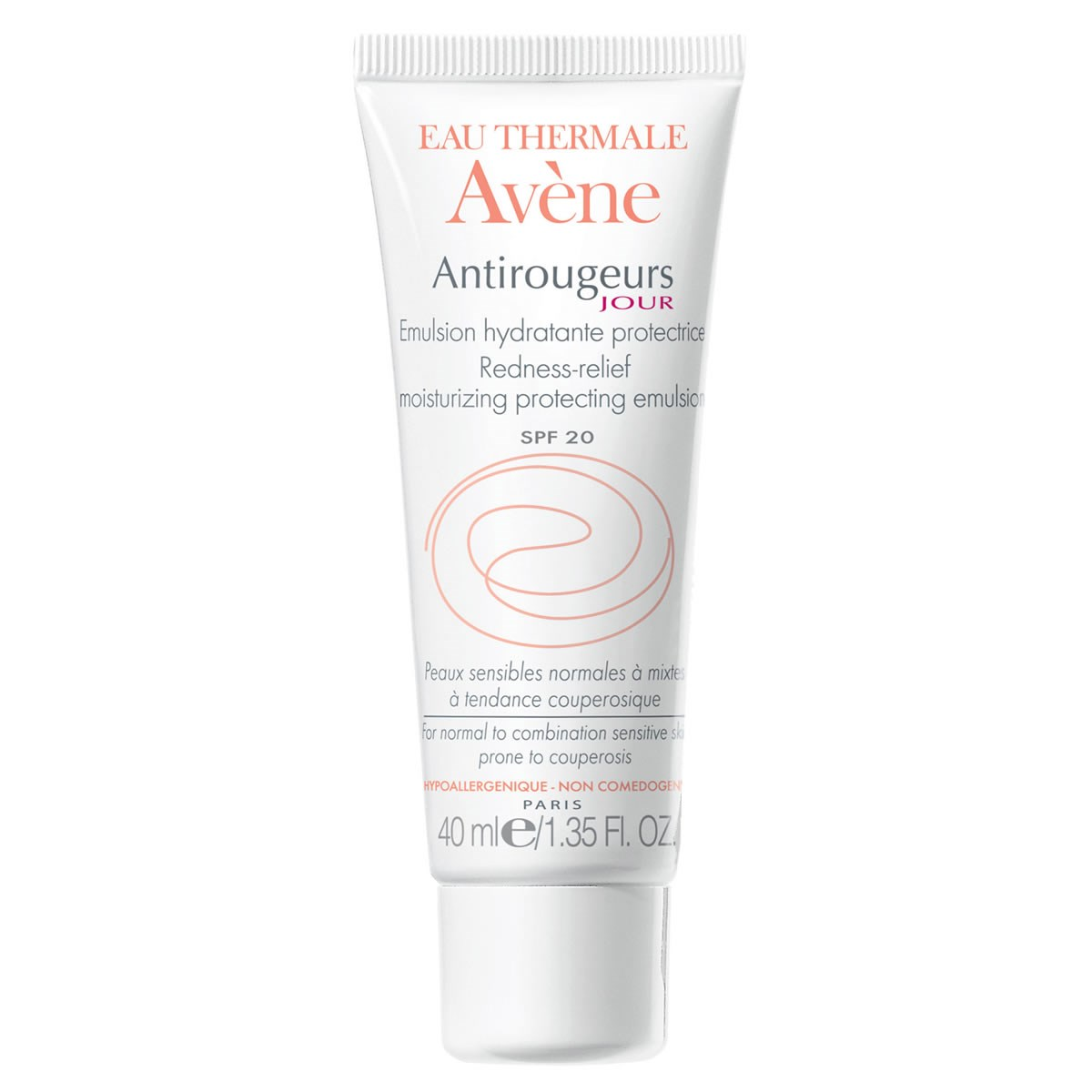 Avene Antirougeurs Jour Emulsion SPF 20 - Normal to Combination Skin