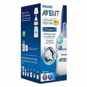Avent Classic+ Feeding Bottle 0m+ (1 Pack)
