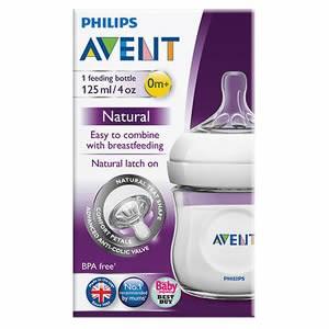 Avent Natural Feeding Bottle 0m+ (1 Pack)