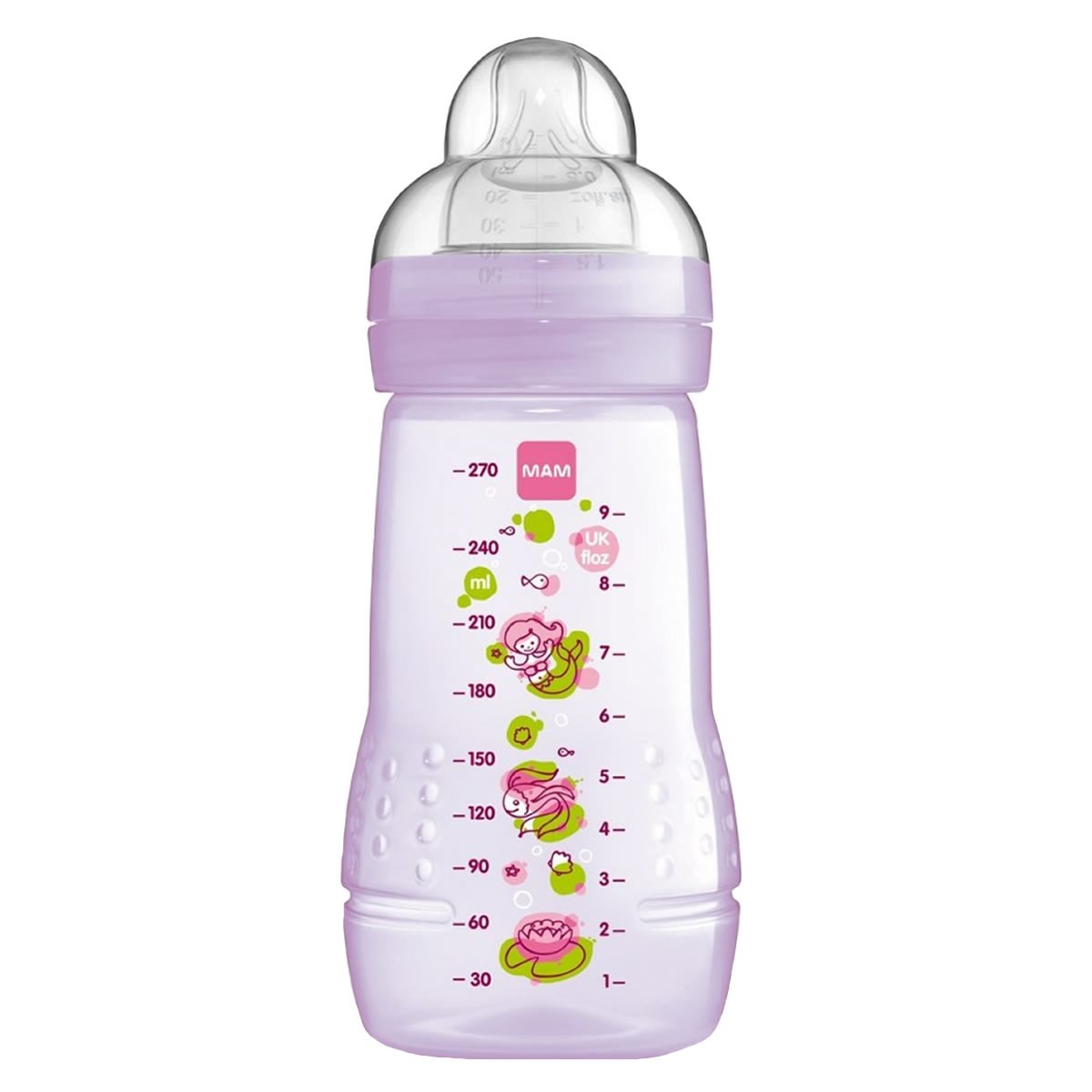 MAM Baby Bottle 270ml - Assorted Colours