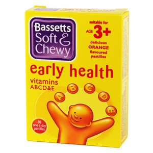 Bassett's Early Health ABCD&E Orange