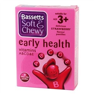 Bassett's Early Health ABCD&E Strawberry