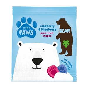Bear Arctic Paws - Raspberry & Blueberry 20g