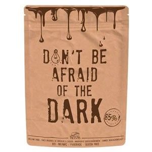 "Belvas ""Don't Be Afraid Of The Dark"" Organic Dark Belgian Chocolate"