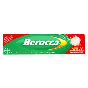 Berocca Mixed Berries Flavour Effervescent Tablets